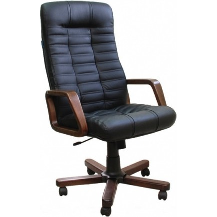 Офисное кресло для руководителя Атлант /дерево 1300/620/740