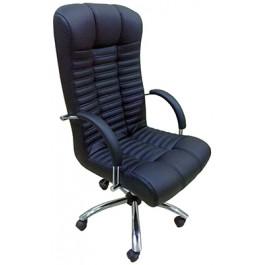 Офисное кресло премиум АТЛАНТ /хром 1300/620/740