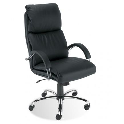 Офисное кресло премиум НАДИР /хром