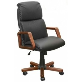 Офисное кресло премиум НАДИР / дерево