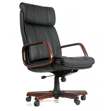 Офисное кресло для руководителя CHAIRMAN 419 1150/660/720