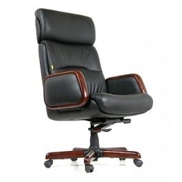Офисное кресло для руководителя CHAIRMAN 417 1260/720/680