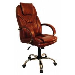 Офисное кресло премиум Монтана/хром
