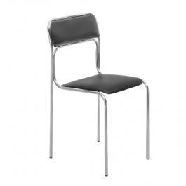 Офисный стул Аскона хром